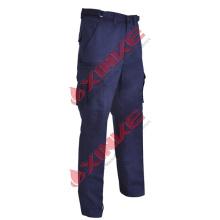 pantalones repelentes de insectos, azul marino, algodón, 310gsm