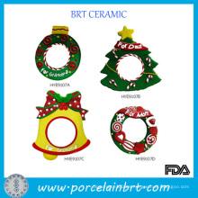 Marco de fotos de resina navideña para sello