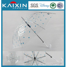 Low Price Poe Plastic Rain Umbrella