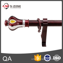 Quality assurance 28mm aluminum curtain rod