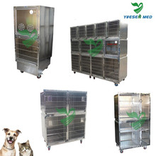 Yuesenmed Veterinary Hospital Medical Acier inoxydable Pet Crate