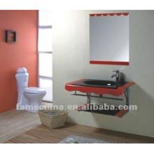 Toilet Glass Bathroom Cabinet