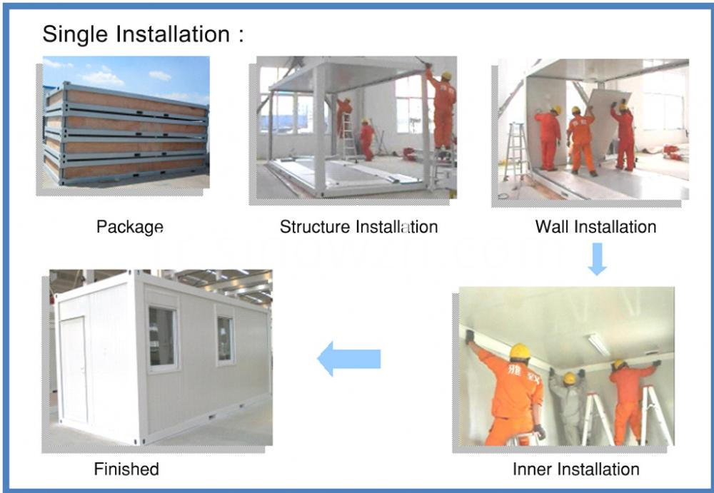 container house installation (2)