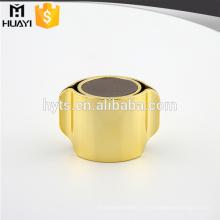 Forme unique UV ABS matériau couvercle de bouteille de parfum