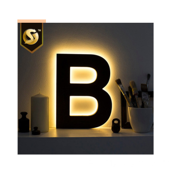 Letras luminosas LED personalizadas