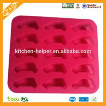 Custom BPA Free China Professional fabricante Alimento Grade bandeja de gelo Molde caseiro Silicone Ice Mould