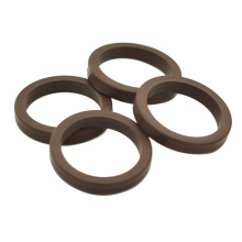 Longyin silicone fkm heat resistant rubber  rectangular seal ring