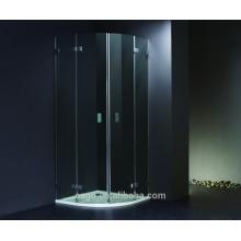 EAGO Aluminum frame tempered glass shower cabin