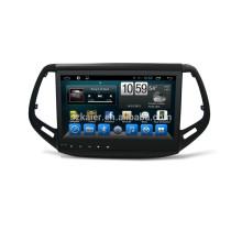 Venta al por mayor 2017 Jeep Compass Car DVD Player con Airplayer + USB + Radio + Wifi