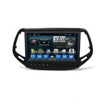 Оптовая 2017 автомобилей джип Компас проигрыватель DVD с Airplayer+USB кабель+Радио+WiFi