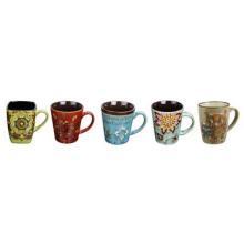 Taza de cerámica coloreada superventas, taza de café
