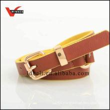 Customized fashion kid pu belt