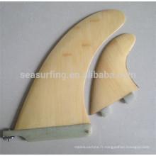 palmes de natation design coloré palmes de surf / ailettes SUP en bambou