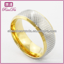 hot sell!!!fashion ring high quality , cheap wholesale, gold high polish stainless steel men ring