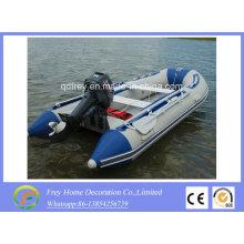Barco de pesca inflable del CE de la venta caliente, barco de rescate, lancha rápida