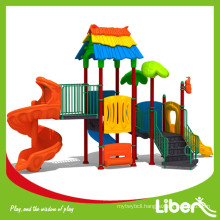 Multiple Choice Colorful Forest Tree Style Plastic Outdoor Playground Park for Children Used