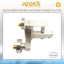 Thermostatic cartridge ceramic nickle brushed bath shower mixer