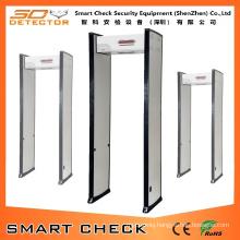 Single Zone Portable Metal Detector Walk Through Metal Detector
