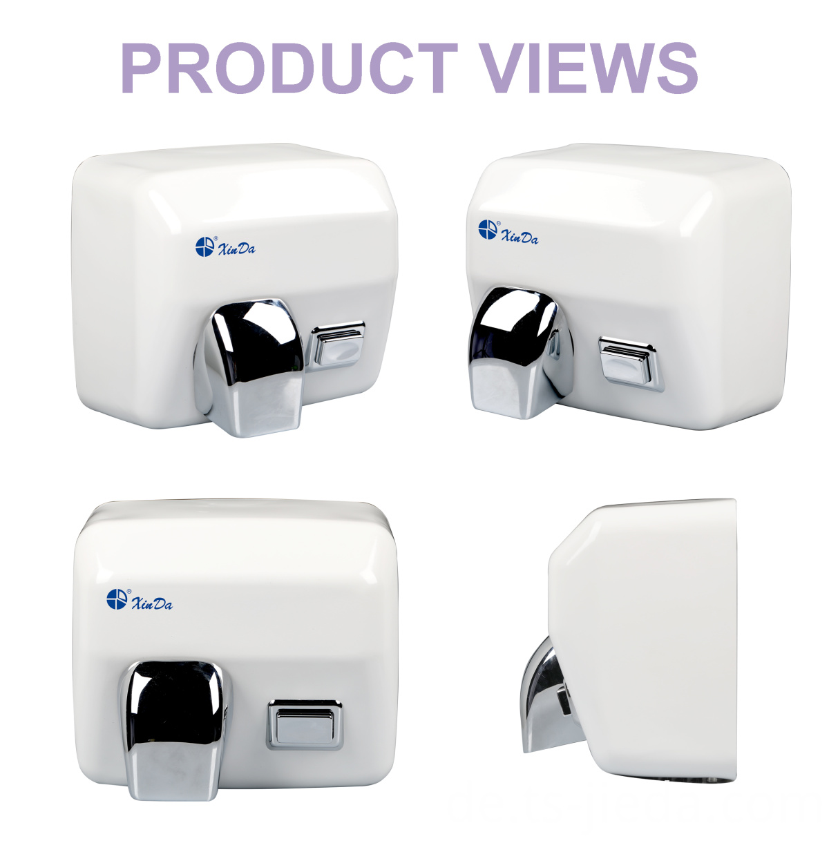 auto-sensing high-speed hand dryer