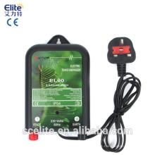 CE elétrico RoHS da unidade 10km 230v 0.5J do Energizer da cerca EL90 dos canos principais da cerca ELY garantia de 1 ano