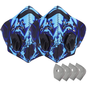 Actieve koolstoffilter Sport Cycling Face Cover