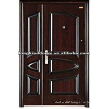 Customized Steel Double Door/One And Half Door Design KKD-571B For Mother and Son Door Used