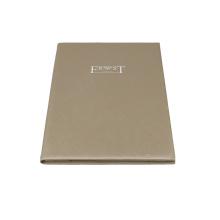 SHBC Factory Customized fashion handmade paper file folder, embossing Certificate Holders