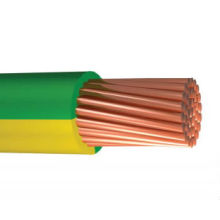 yellow/green electric wire earth cable earth wire 1.5 2.5 4 6 10 12 14 1 6 mm2