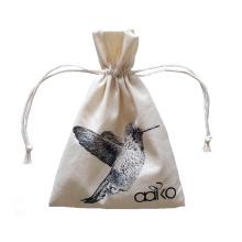 sacs à cordon en toile de coton