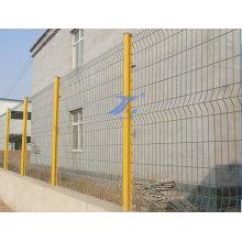 Забор из проволочной сетки с персиковым столбом (TS-L01)