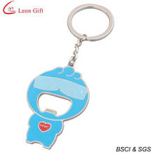 Hot Sale Enamel Novelty Bottle Opener Keychain Holer (LM1344)
