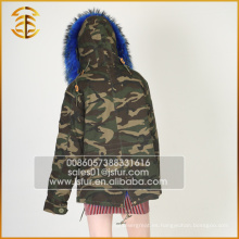 China fabricante Servicio de OEM Fox Winter Coat Fur Parka