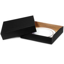 Wholesale custom paper  dinner plate gift box