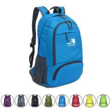 35l dobrável nylon impermeável ao ar livre camping mochila esportes (yky785)