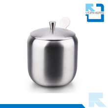 Higt Quality 304 Stainless Steel Salt Container Spice Bottle