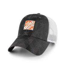6 panel embroidery trucker sports hat