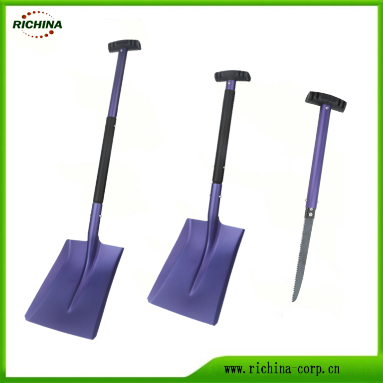 Emergency Aluminum Snow Shovel