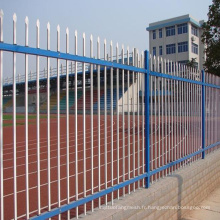 Clôture de sécurité en fer forgé de haute qualité pour la vente à chaud