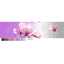Changxing nouveau tissu de drap de lit de couleur vive