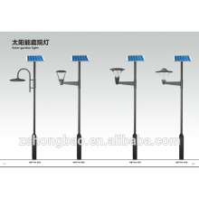 Lámpara llevada solar IP65 del jardín de la alta calidad 3 días 6-8 horas de tiempo de trabajo 20w 30w 40w 50w luz llevada solar del jardín 60w