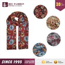 HEC 2016 Neu Designed Produkt Mode Günstigen Preis Floral Printed Schal und Schal