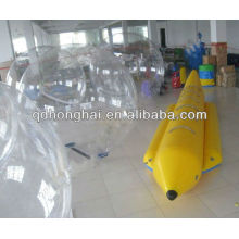 6 person PVC inflatable banana boat for sale