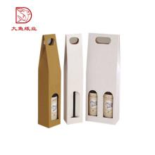 Gute Qualität chinesische maßgeschneiderte Mode Weinflasche Karton Box