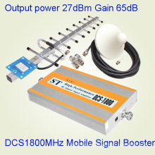 Powerful 75dB Gain 1800MHz Band Signal Booster for Large Coverage