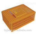 Cage de poulet en plastique pour le transport de poulet Cage de poulet en direct