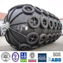 Costa e pneumático net fender marinha pneumática à venda