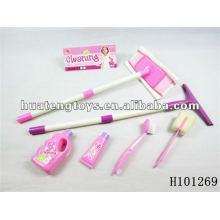 Новейший розовый доктор / кухонный набор для игры с ASTM H101269