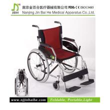 Einfache Falten Manuelle Rollstuhl für ältere und behinderte