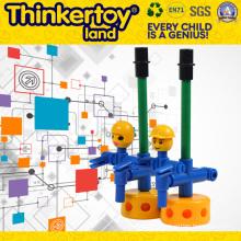 El más nuevo ABS coche diseño creativo coloridos bloques de construcción de los niños de juguete