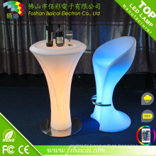 Waterproof Commericial Acrylic LED Bar Stool Parts